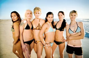The cast of Logo's Curl Girls.