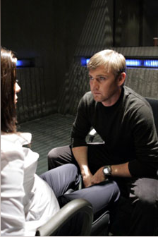 Ricky Schroder and Marisol Nichols from the Fox Television Series, 24.