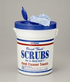 Scrubs In A Bucket