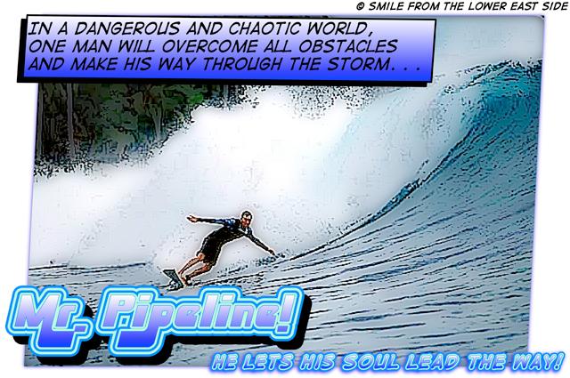 Mr. Pipeline comic art