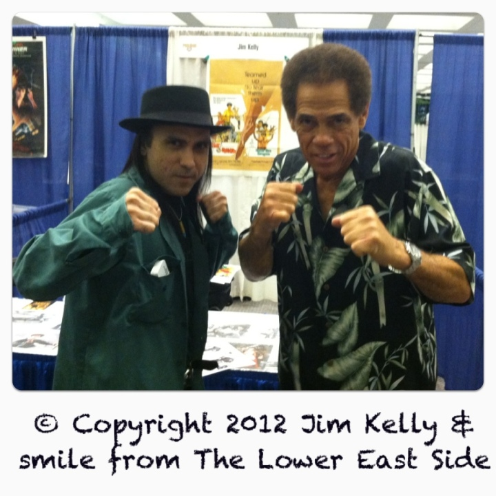 smile from The Lower East Side & Jim Kelly