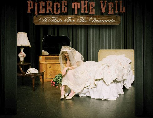Cover of Pierce the Veil's album, A Flair for the Dramatic