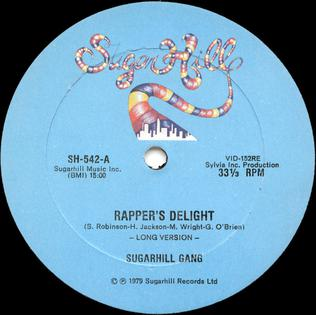 Rapper's Delight label