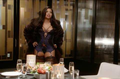Taraji P Henson in lingerie