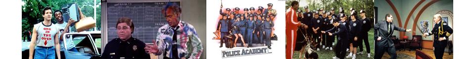 Police Academy film series bannger