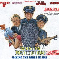 I've been promising something relating to Police Academy for years. It's much bigger than I planned