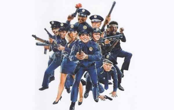 Police Academy 2 cast