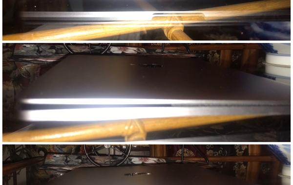 Macbook Pro Clamshell before repair